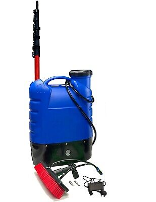 20L Window Cleaning Backpack And 25Ft  Bayersan Water Fed Glassfibre Pole