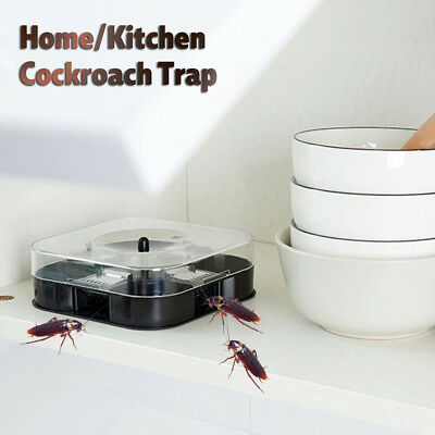 Reusable Cockroach Insect Ant Roach Trap Pest Trapper Killer With Trapping Food