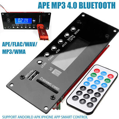 Drahtlose Bluetooth 4.0 MP3 Decoder Board APE Audio Module USB Radio FLAC WMA