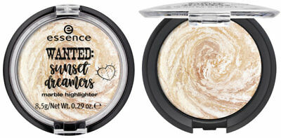 """essence LE """"wanted: sunset dreamers"""" marble highlighter NEU&OVP"""