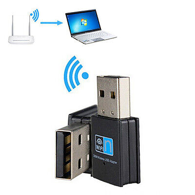 1PCS  Faster 300M USB Wlan WiFi LAN-Stick Adapter 300Mbps 300 hot new de