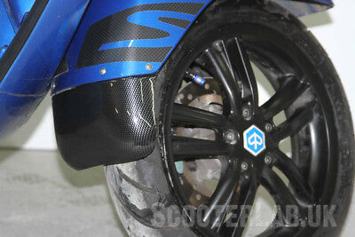 Vespa GTS SLUK Guard - mudguard extender CARBON EFFECT (NOT HPE Model)
