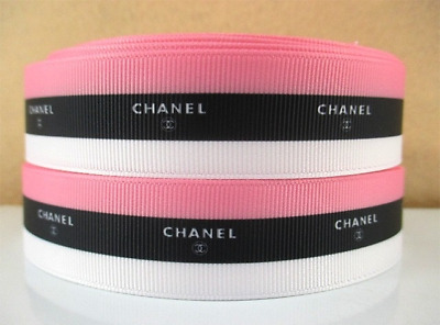 Grosgrain Ribbon Chanel #1 Stripe 25mm (1m, 2m or 5m)
