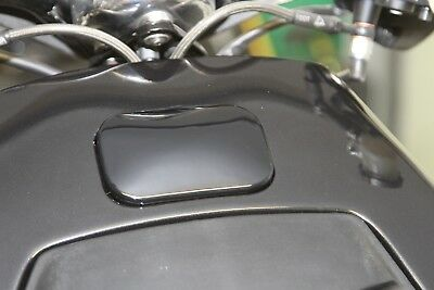 Italjet Dragster 125/180 SLUK header tank cover GLOSS BLACK