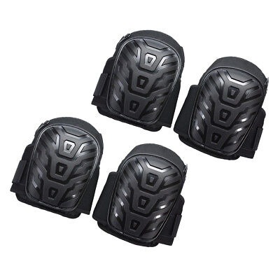 2 Pair Gel Filled Knee Pads For Work Gel Knee Pads with Adjustable Strap