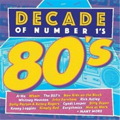 Decade Of Number 1s: 80s (Various Artists) [New & Sealed] 2 CDs