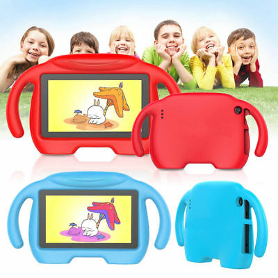 7'' For Amazon Fire 7 7th Gen 2017 / 2015 Kids Safe ShockProof Handle Stand Case
