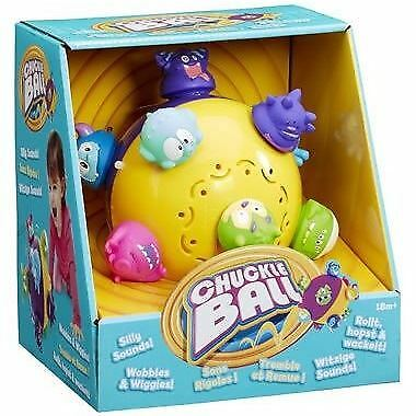 Spinmaster Chuckle Ball Toddler Interactive Toy