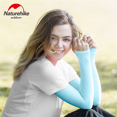 NEW Naturehike Summer Icy Anti-UV Sunscreen Female Driver Sleeve Arm Sleeve DE