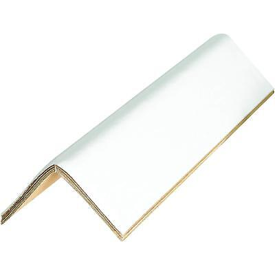 """BOX USA BEP2236160BX Edge Protectors - Cased.160, 2"""" x 2"""" x 36"""", White Pack of"""