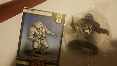 Star Wars Revenge of the Sith 54/60 Yuzzem  Miniature fringe wotc