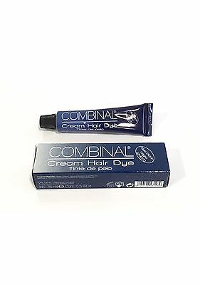 Combinal BLUE BLACK - Cream Hair Dye Professional Hair Tinting (for Lash/brows)