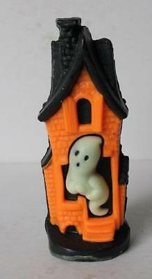 Ghost in a Haunted House Wax Candle Figurine Halloween-Glow in The Dark-NEATO