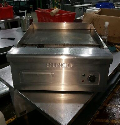 Burco CTGD01 Electric Commercial Griddle