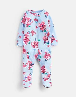 Joules 125068 Babygrow in BLUE FLORAL
