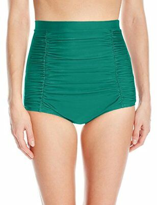 b4312948660 Unique Vintage Emerald Green Monroe High Waist Swim Bottom Only SIZE: XSMALL