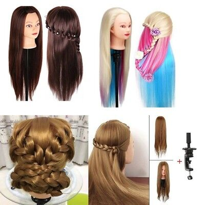 """22""""-26"""" Hair Cutting Barber Salon Practice Head Training Mannequin Cosmetology"""
