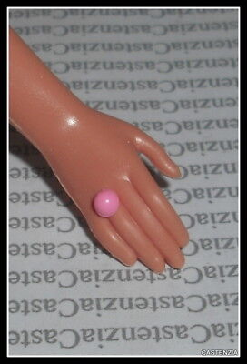 Jewelry Barbie Doll Happy Birthday Plastic Faux Pink Standard  Ring Accessory