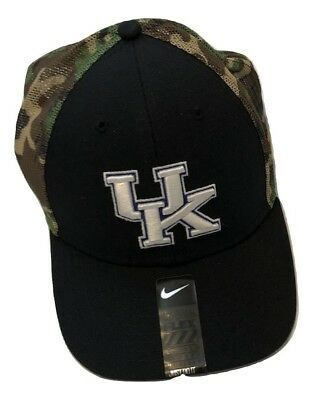 ef35c50ecdf NWT New Kentucky Wildcats Nike Dri-Fit Camouflage Flex-Fit One Size Hat