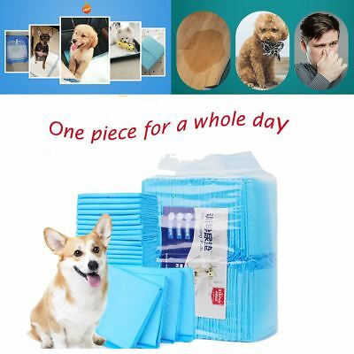 """39.4""""x39.4""""DOG PUPPY PET HOUSEBREAKING WEE WEE PEE TRAINING POTTY PADS UNDERPADS"""