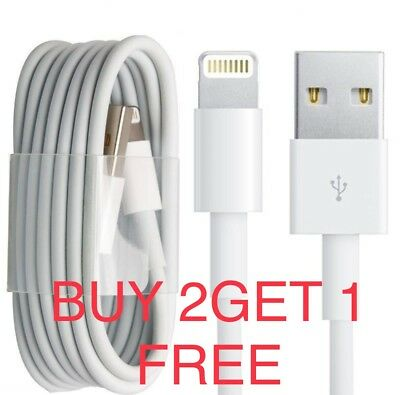 iPhone 6/7/8/X Speedy Data Cable Apple iPad USB Charger Lighting Sync Charging