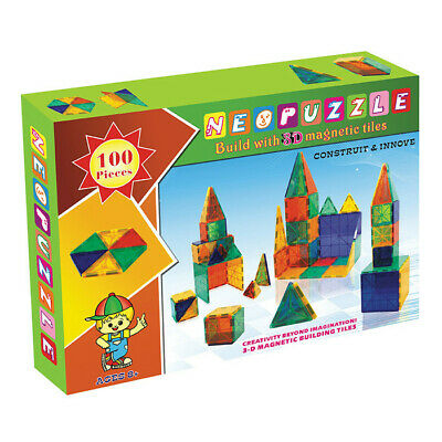 Neoformers Magnetic Building Neopuzzle Kids Toy - 100 Pcs Set **FREE DELIVERY**