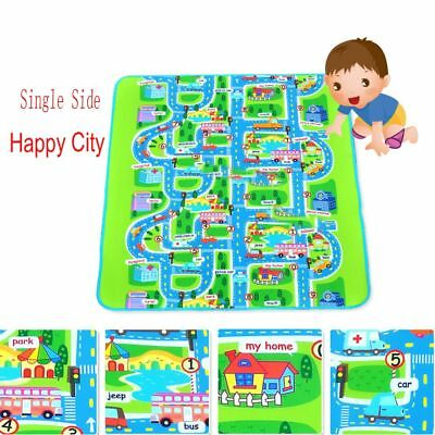 Hot CITY Carpet Car Play Mat Children's Floor Mats Baby Kids Room Rug