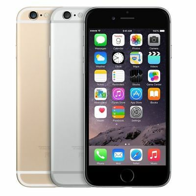 Apple iPhone 6 - 16/64GB (All Colors) GSM Factory Unlocked 4G LTE Smartphone