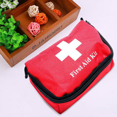 BBAC 11pcs Family First Aid Kit Set Outdoor Emergency Bag Case Camping Medical