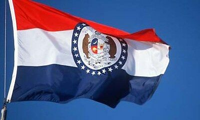 NEW 3x5ft MISSOURI STATE OF FLAG better quality usa seller