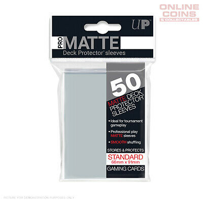 ULTRA PRO Deck Protector Sleeves 50 Pack - Pro-Matte Clear
