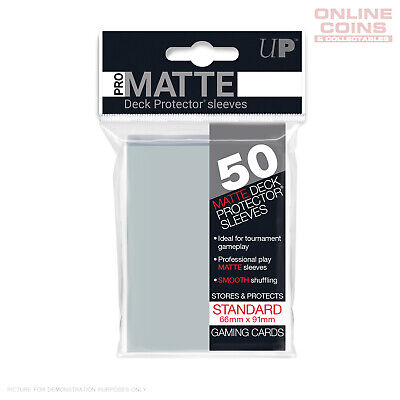 ULTRA PRO Standard Deck Protector Sleeves 50 Pack - Pro-Matte CLEAR