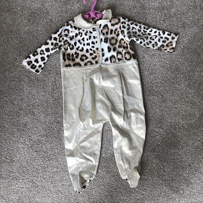 Roberto Cavalli Baby Girls All In One Romper Babygrow Age 9 Months New Rrp £90