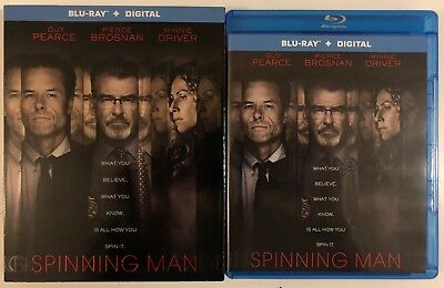 Spinning Man Blu Ray + Slipcover Sleeve Free World Wide Shipping Buy It Now