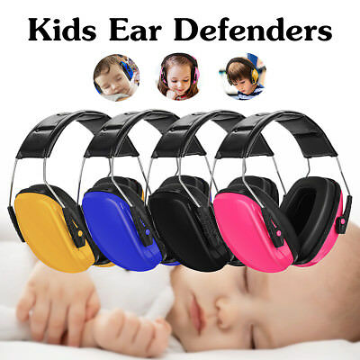 Kids Earmuffs Baby Children Safety Ear Muffs Hearing Protection Noise Reduction