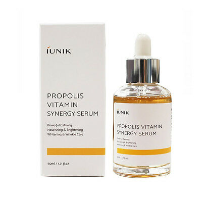 [iUNIK] Propolis Vitamin Synergy Serum - 50ml / Free Gift