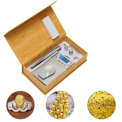 0.001g-20g High Precision Digital Jewellery Diamond Calibration Weight Scale UK