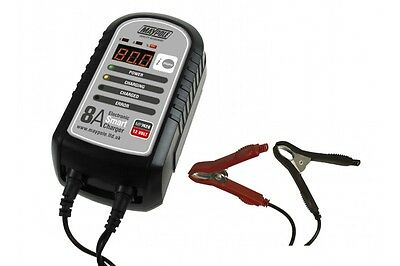 MP7428 Maypole Car Battery 8a Electronic Smart Charger - Fast Charge Batteries