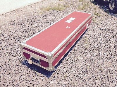 Large Shipping Cargo Case with Casters ID 17W 8.5H 65L