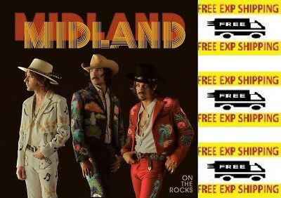 On The Rocks by Midland Pop Country Discs: 1 2017 843930032679 Audio CD NEW