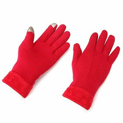Can touch the gloves in winter warm thickening refers to outdoor windproof Y9E6