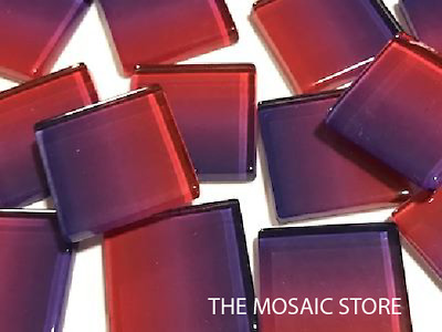 Handmade Colour Combination Glass Mosaic Tiles 2.5cm - Art Craft Supplies