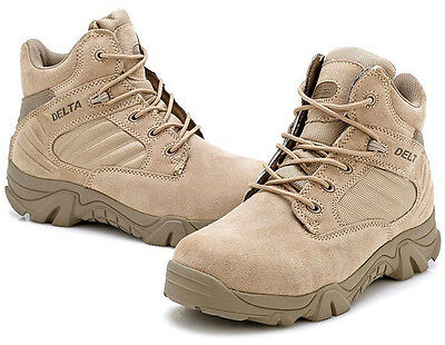 HOT Men US Military Tactical Boots Desert Army Combat Hiking Shoes Breathable