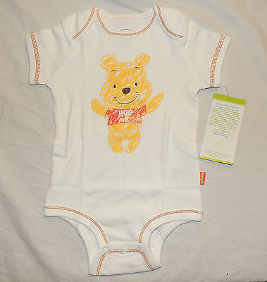 NEW Unisex Disney Baby Winnie the Pooh One Piece Size  6-9 Months Shower Gift