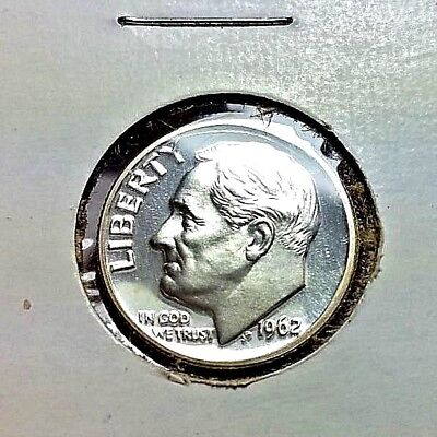 Dimes 1962 Us Roosevelt Silver Dime Proof Coin Ngc Pf66 Coins: Us