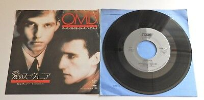 """Orchestral Manoeuvres In The Dark - Souvenir 1982 Japanese Din Disc 7"""" Single"""