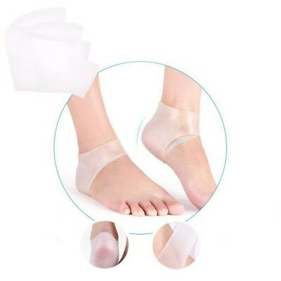 Silicone Gel Foot Heel Ankle Supports for Plantar Fasciitis - Comfort Cushion