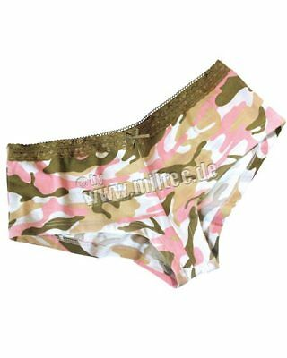 Intimates & Sleep Camouflage Panty Pink Pattern With Lace Size Xl Camo Underwear Panties Panties