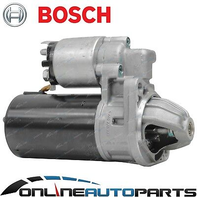 Bosch Starter Motor suits Pajero NF NG NH NJ NK NL NM NP V6 3.5L 3.0L Manual