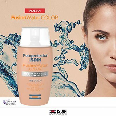 FOTOPROTECTOR  ISDIN Fusion Water Color SPF 50-50ml